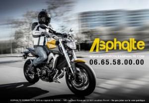 Moto Ecole Asphalte